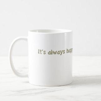 es siempre hora feliz @ la biblioteca taza de café