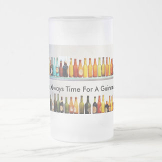 Es siempre hora para un Guinness Taza Cristal Mate