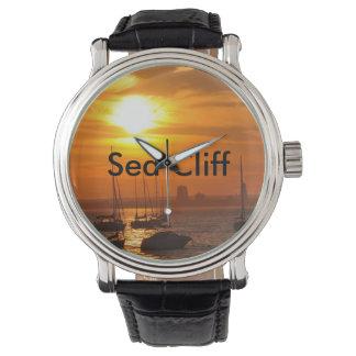 Es siempre hora para una puesta del sol beatuful relojes de mano