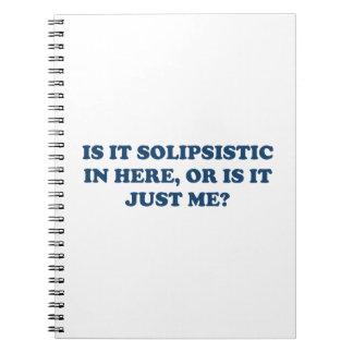 ¿Es Solipsistic o es apenas yo? Libretas Espirales
