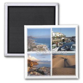 ES * Spain - Gran Canaria - Canary Islands Magnet