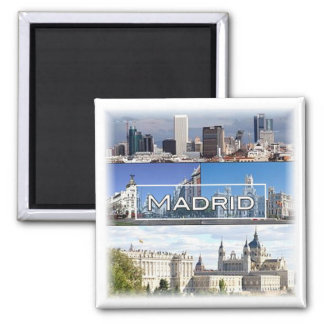 ES * Spain - Madrid Magnet
