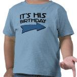 Es SU CUMPLEAÑOS con la flecha que señala A LA IZQ Camisetas