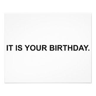 """Es su cumpleaños folleto 4.5"""" x 5.6"""""""