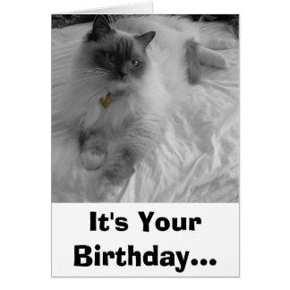 Es su cumpleaños… tarjeton