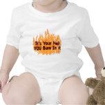 Es su infierno trajes de bebé