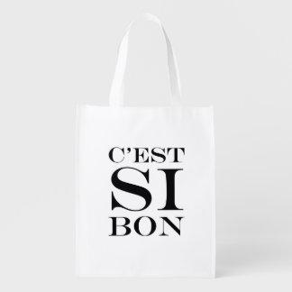 Es tan bueno - francés del Bon de C'est Si Bolsa De La Compra