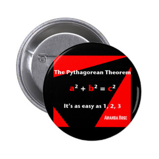 Es tan fácil como 1, 2, botón rojo 3 pin redondo de 2 pulgadas