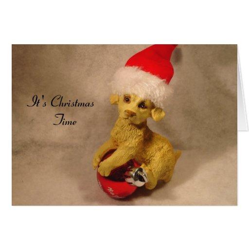 Es tarjeta de fichar del navidad