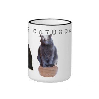 Es taza de café de encargo de Caturday