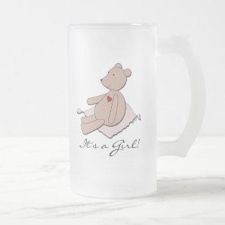 """""""Es taza de cerveza del oso de un chica"""""""