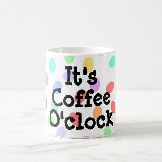 Es taza del en punto del café