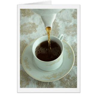 Es Teatime Tarjeta De Felicitación