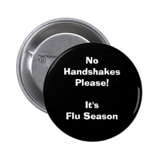 Es temporada de gripe pin redondo 5 cm