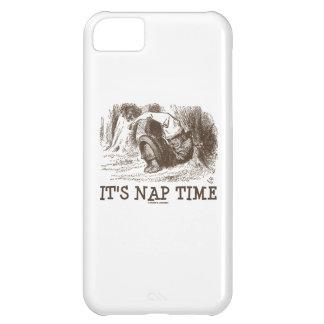 Es tiempo de la siesta (rey rojo Snoring del país Funda iPhone 5C