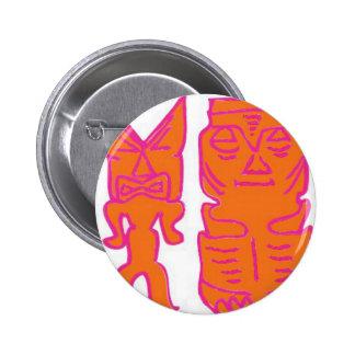 ¡Es tiempo de Tiki! Pin Redondo 5 Cm