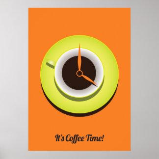 Es tiempo del café póster