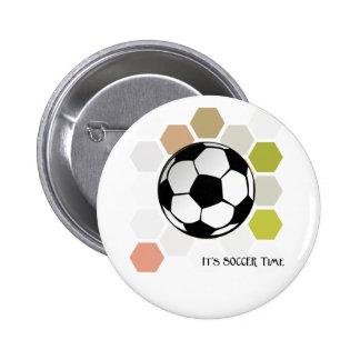 Es tiempo del fútbol pins