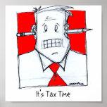 Es tiempo del impuesto posters