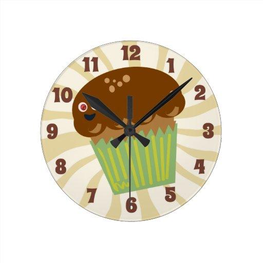 ¡Es tiempo del mollete! Reloj Redondo Mediano