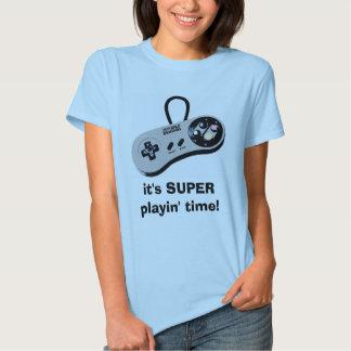 ¡es tiempo ESTUPENDO del playin! Playera