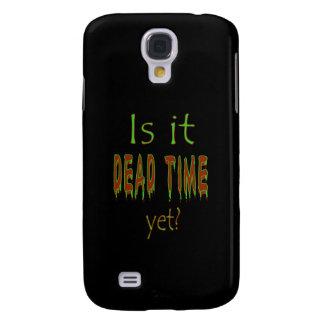 ¿Es tiempo muerto todavía? - Fondo negro Funda Para Galaxy S4
