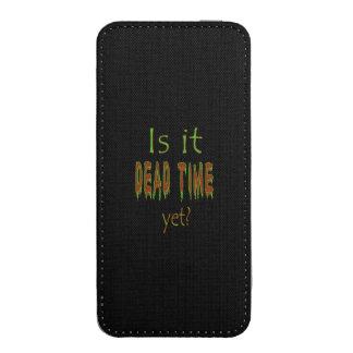 ¿Es tiempo muerto todavía? - Fondo negro Funda Para iPhone 5