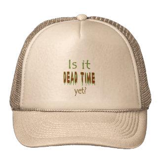 ¿Es tiempo muerto todavía? Gorras De Camionero