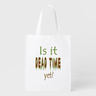 ¿Es tiempo muerto todavía? Bolsa Para La Compra