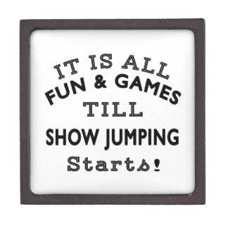 Es toda la diversión y juegos hasta que comienzo caja de joyas de calidad