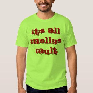 Es toda la falta de Mollys Camisas