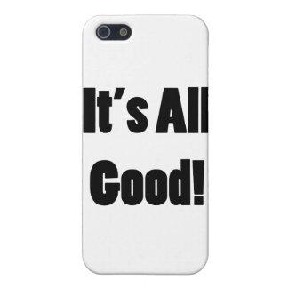 Es todo bueno iPhone 5 carcasa