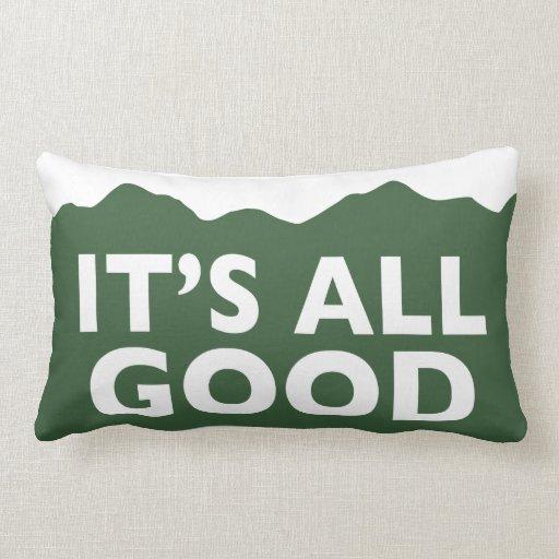 Es todo el bueno - almohada de Colorado