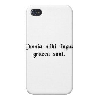 Es todo el Griego a mí iPhone 4 Cobertura
