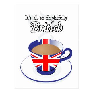 Es todo tan espantosamente Británicos Postal