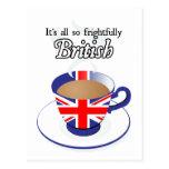 Es todo tan espantosamente Británicos Postales