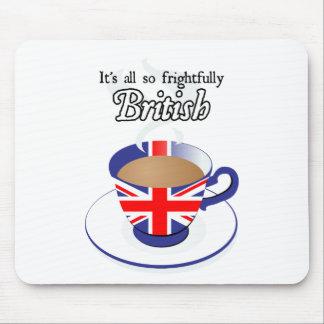 Es todo tan espantosamente Británicos Tapetes De Ratón