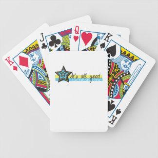 Es todos los buenos naipes de la génesis una crist baraja cartas de poker