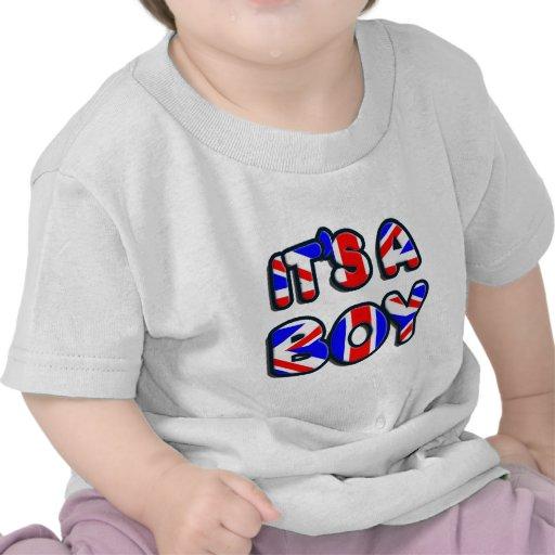 Es un bebé real del muchacho camisetas