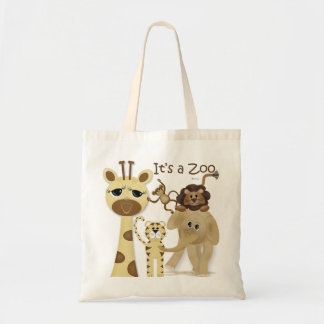 Es un bolso del parque zoológico bolsas