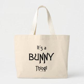 ¡Es un BunnyThing! Bolsas De Mano