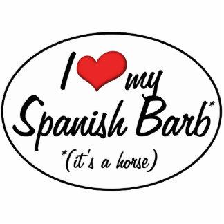 ¡Es un caballo Amo a mi Barb español Esculturas Fotograficas