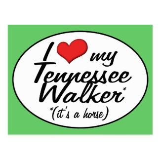¡Es un caballo! Amo a mi caminante de Tennessee Postal