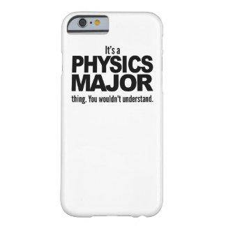 Es un comandante cosa de la física funda de iPhone 6 barely there