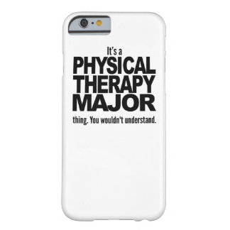Es un comandante cosa de la terapia física funda para iPhone 6 barely there