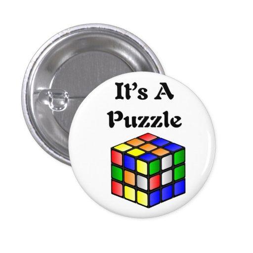 Es un cubo del rompecabezas