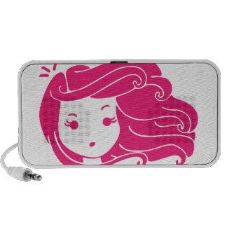 Es un día ventoso (el chica Rosado-Haired) iPhone Altavoz