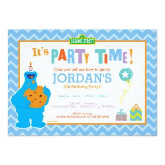 """Es un fiesta de la galleta invitación 5"""" x 7"""""""