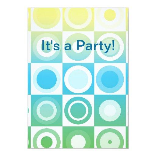 ¡Es un fiesta! Invitacion Personal