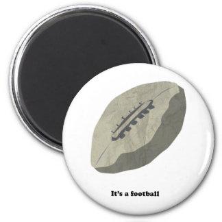 ¡Es un fútbol! Imán Redondo 5 Cm